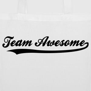 Team awesome! Bags & Backpacks - Tote Bag