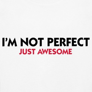 I am not perfect. Just awesome! Long Sleeve Shirts - Kids' Premium Longsleeve Shirt