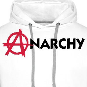 Anarchy! Hoodies & Sweatshirts - Men's Premium Hoodie