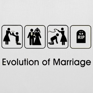 EVOLUTION OF MARRIAGE Sacs et sacs à dos - Tote Bag