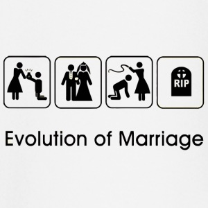 EVOLUTION OF MARRIAGE Manga larga - Camiseta manga larga bebé