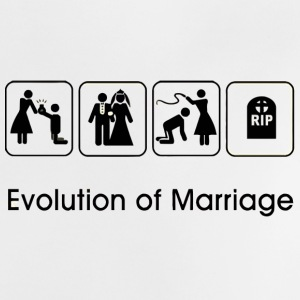 EVOLUTION OF MARRIAGE Tee shirts - T-shirt Bébé