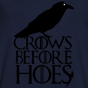 CROWS BEFORE HOES T-shirts - Herre T-shirt med V-udskæring