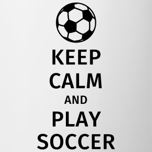 keep calm and play soccer Tazze & Accessori - Tazza