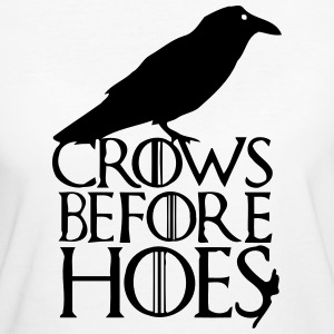 CROWS BEFORE HOES T-shirts - Ekologisk T-shirt dam