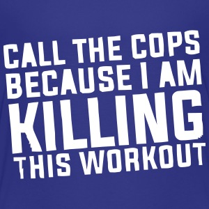 I'm killing this workout! Shirts - Teenager Premium T-shirt