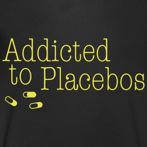 Addicted to Placebos T-Shirts - Men's V-Neck T-Shirt
