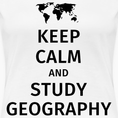 keep calm and study geography T-Shirts
