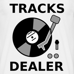 tracks dealer I T-shirts - Herre-T-shirt