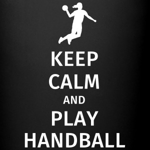 keep calm and play handball Tazas y accesorios - Taza de un color