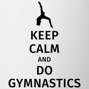 keep calm and do gymnastics Krus & tilbehør - Kop/krus