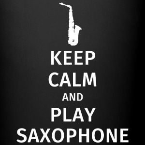 keep calm and play saxophe Tazze & Accessori - Tazza monocolore