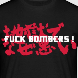 F*ck Bombers ! - T-shirt Homme