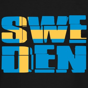 Sweden Flag T-Shirts - Men's Ringer Shirt
