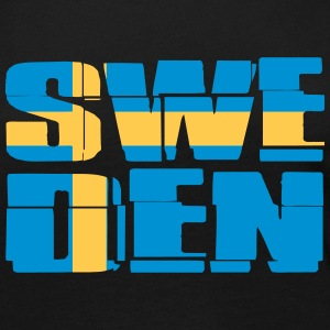 Sweden Flag Long Sleeve Shirts - Women's Premium Longsleeve Shirt