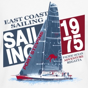 East Coast Sailing  T-shirts - Mannen contrastshirt