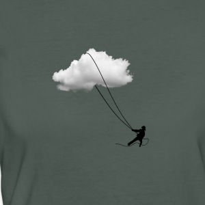Dreams and clouds Lassoing T-Shirts - Women's Organic T-shirt