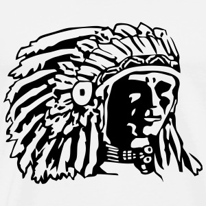 Indian Chief Shirt Design T-Shirts - Men's Premium T-Shirt