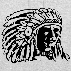 Indian Chief Shirt Design Sweaters - Hoodie unisex