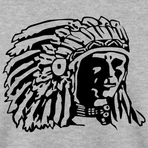 Indian Chief Shirt Design Hoodies & Sweatshirts - Men's Sweatshirt