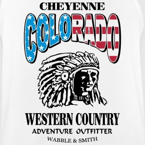 Colorado Indian Chief Shirt Design Ropa deportiva - Camiseta sin mangas hombre transpirable