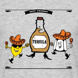 Tequila Meilleurs amis pour toujours Tee shirts - T-shirt Homme