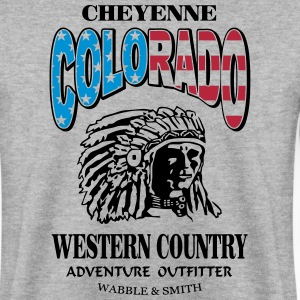 Colorado Indian Chief Shirt Design Sweaters - Mannen sweater