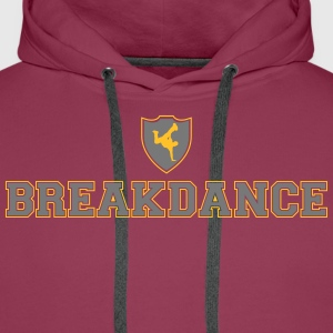 Ecusson Breakdance Sweat-shirts - Sweat-shirt à capuche Premium pour hommes