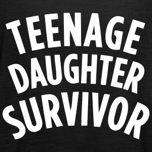 TEENAGE DAUGHTER SURVIVOR Tops - Frauen Tank Top von Bella