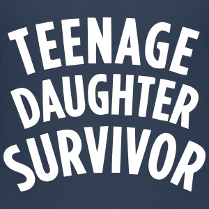 TEENAGE DAUGHTER SURVIVOR Shirts - Teenager Premium T-shirt