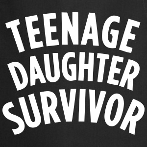 TEENAGE DAUGHTER SURVIVOR  Aprons - Cooking Apron
