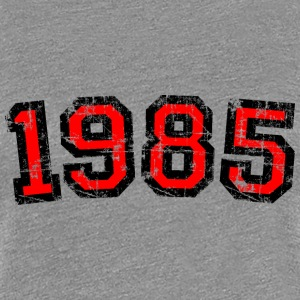 Year 1985 Birthday Design Vintage Red (EU) T-Shirts - Women's Premium T-Shirt