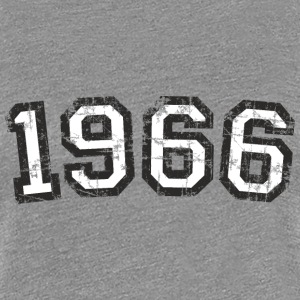 Year 1966 Birthday Design Vintage White (EU) T-Shirts - Women's Premium T-Shirt