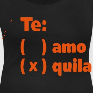 TE AMO TEQUILA T-Shirts - Women's Scoop Neck T-Shirt