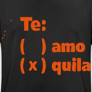 TE AMO TEQUILA T-shirts - Herre T-shirt svedtransporterende