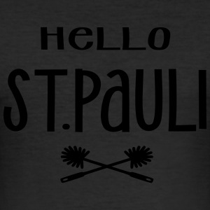Hello St. Pauli - Männer Slim Fit T-Shirt