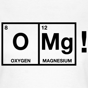 OMG periodic system Tee shirts - T-shirt Femme