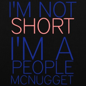 I'M NOT SMALL! Bags & Backpacks - Tote Bag