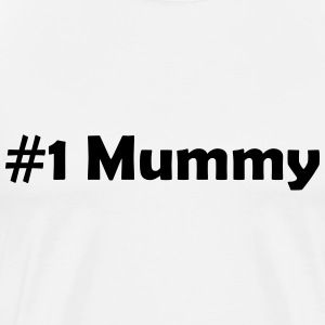 #1 Mummy - Men's Premium T-Shirt