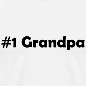 #1 Grandpa - Men's Premium T-Shirt