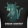 Dream Harvest - Monster Logo Black Women's T-Shirt - Women's T-Shirt
