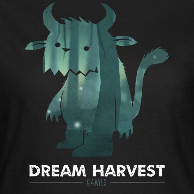 Dream Harvest - Monster Logo Black Women's T-Shirt