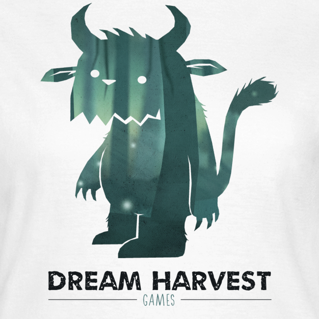 Dream Harvest - Monster Logo White Women's T-Shirt