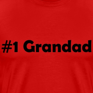 #1 Grandad - Men's Premium T-Shirt
