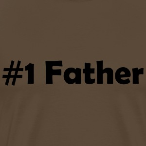 #1 Father - Men's Premium T-Shirt