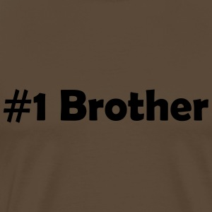 #1 Brother - Men's Premium T-Shirt