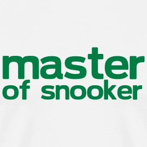 Master of Snooker - Men's Premium T-Shirt
