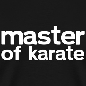 Master of Karate - Men's Premium T-Shirt