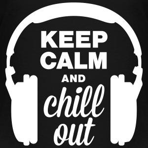Høyttaler keep calm and chill out Skjorter - Premium T-skjorte for tenåringer