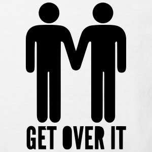 HOMO - GET OVER IT T-shirts - Organic børne shirt